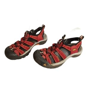 Keen Newport H2 Red Water Hiking Shoes